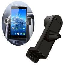 360 Degree Portable Car Air Vent Holder for Elephone C1, S3 Lite, S3, S1, S2, Ivory, M1 M2, Vowney Lite, Trunk Phone Car Trestle(China)