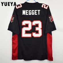 "YUEYA ""The Longest Yard"" Movie Jerseys #23 Earl Megget Mean Machine American Football Jersey Mens Cheap Black S-3XL"