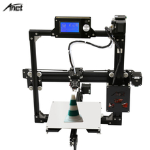 2017 Updrade Anet A2 Aluminium Metal LCD12864 / LCD2004 option printer 3d DIY Prusa i3 3d Printer Kit With 10M Filament