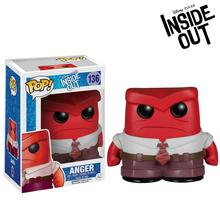Original Funko POP Inside Out - Anger Vinyl Figure Bobble Head Collectible Model Toy with Original Box(China)