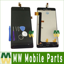 1PC /Lot For Wiko Highway Signs LCD Display+Touch Screen Digitizer Black Color with tools(China)