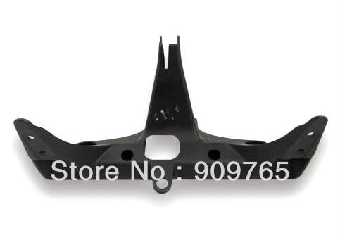 Black UPPER FAIRING STAY BRACKETS For 2004-2007 HONDA CBR 1000 RR<br>