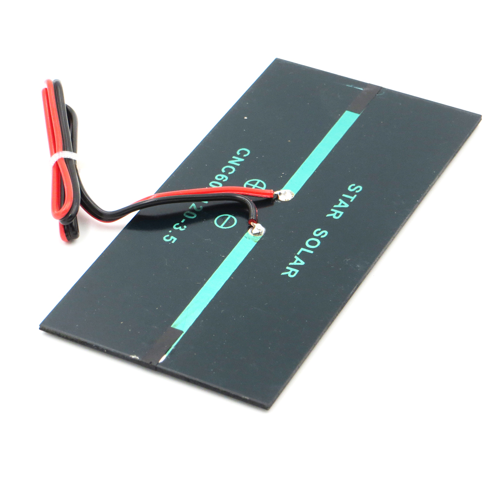 Aoshike 3W 9V Polycrystalline Solar Panel 125*195mm Sunpower Solar Cell Battery Module Polycrystalline DIY Solar Power System 6