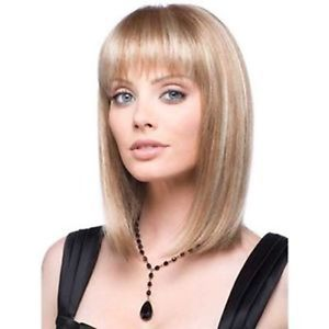 New fashion women Ladies beautiful short blonde wig + cap Ladies Heat Resistant Synthetic hair Wigs<br><br>Aliexpress