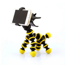 Cute Horse Tripod Phone Holders Stand Display Support Flexible Universal Mobile Phone Holder Monopod(China)