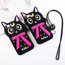 For apple iphone 4s case luxury back hard cute cats accessories silicone flip case for iphone 4 s coque 4gb 8gb 16gb 32gb 64gb