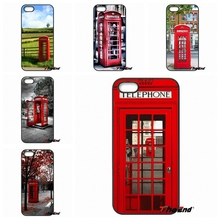 For Huawei Ascend P8 P9 Lite Xiaomi Redmi Note 4 3 3S Pro LG G3 G4 G5 K10 K8 London Telephone Box retro uk Hard Phone Case Cover