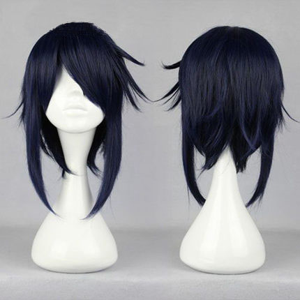 OHCOS  K Character Reisi Munakata Cos Wig 40CM Straight Hair Cosplay Wigs Instock<br><br>Aliexpress