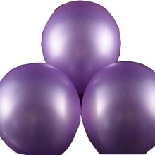 Purple high quality latex balloon decoration bridal wedding supplies 12 inch 2.8 grams birthday happy party baby toys inflatable(China)