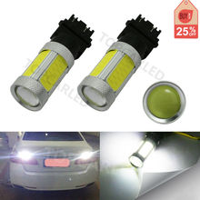 2x COB LED 3157 3057 3047 Projector bulb car auto led Backup Turn Signal Light Lamp Bulb DRL 11W super bright