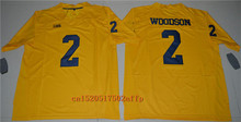 Nike 2017 Wolverines Charles Woodson 2 College Football Limited Boxing Jersey - Yellow Size S,M,L,XL,2XL,3XL(China)