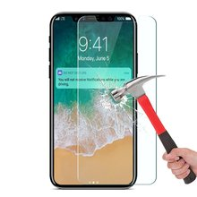 Strong Package 9H 0.25mm Tempered Glass Screen Protector For iPhone X 10 8 7 6 6S Plus 5 5S 3 4S 5C SE Film Explosion-proof Case