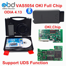 New Multi-Language Vas5054a OKI Bluetooth Vas5054 Full Chip Support ODIS And UDS Professional PP2000 Diagnostic Tool VAS 5054