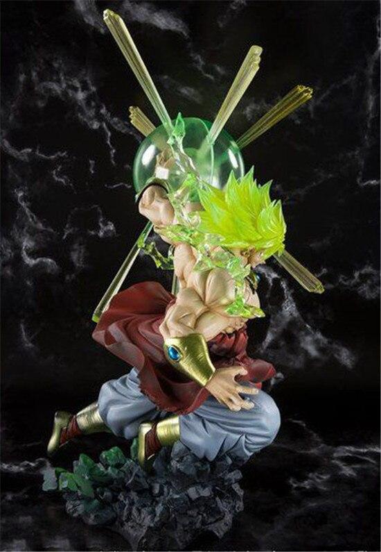 DRAGON BALL F ZERO Broli super Saiyan gleam Explosion PVC action figure(16)