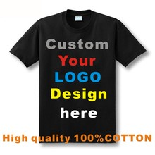 Printed Personalized T-Shirts Designer Logo Mens T Shirt Advertising Brand New White Tshirt Short Sleeve Blank Tee