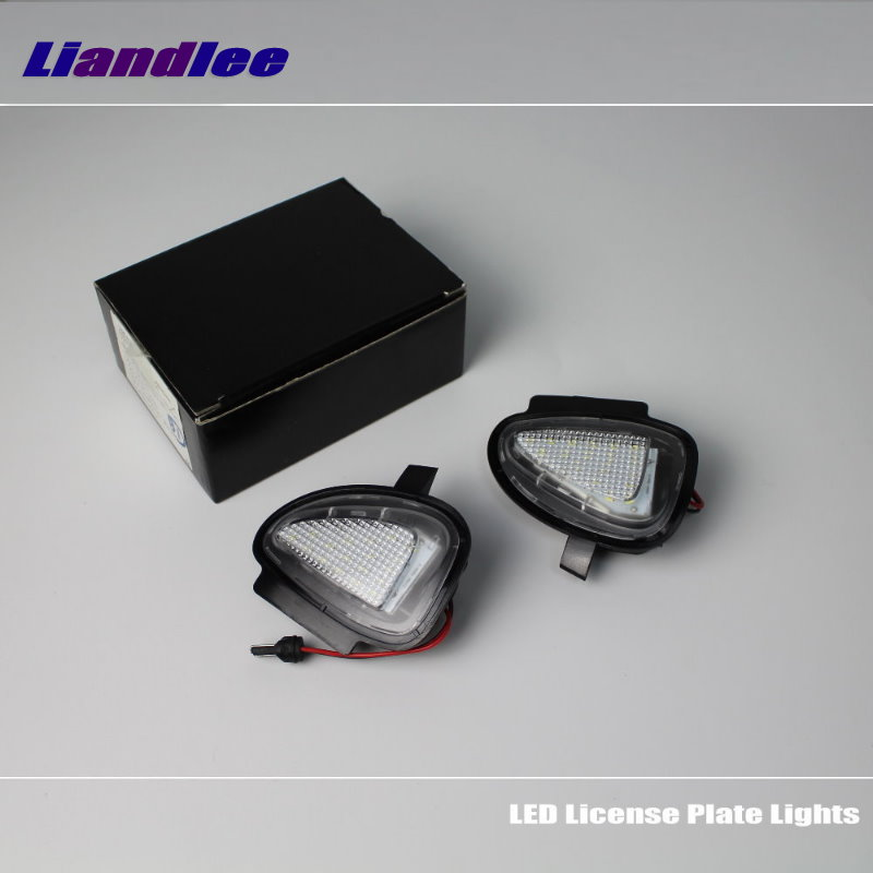 Liandlee For VW Touran 2010~2016 / LED Car License Plate Light / Number Frame Lamp / High Quality LED Lights<br>