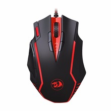 Redragon M902 SAMSARA 16400 DPI High Precision 13 buttons Programmable Gaming Mouse for PC(China)