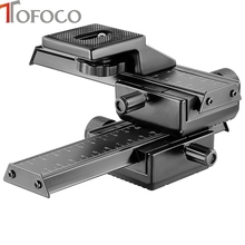 TOFOCO Fixed focus Short focal distance can be adjusted tripod For Gopro Hero 5 4 3 SLR tripode For gopro accessories(China)