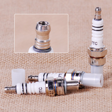 3pcs Spark Plug A7TC Fit for GY6 50cc 70cc 90cc 125cc 150cc Scooter ATV Go Kart Dirt Bike Quads Moped Dune Buggys QMI152 QMI157