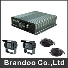Truck DVR kit, including 2 waterproof CAR IR CAMERA and 2pcs 5 meters video cable.