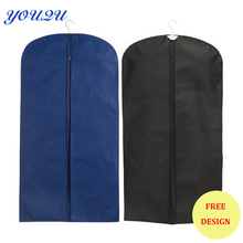 Custom suit cover garment cover fabric cover sweater suit lowest price(China)