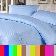 100%Cotton luxury Duvet cover set Bedding set ,AUS UK USA Twin Full size ,include 1 Duvet cover and 2 pillow case Sky blue color