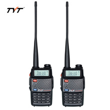 2pcs TYT TH-UVF8D Walkie Talkie 7W High Power Dual Band Portable Two Way Radio 136-174MHz & 400-520MHz