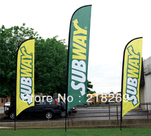 Customized Feather flag Banner / Beach flag printing / Outdoor flag / Advertising flag