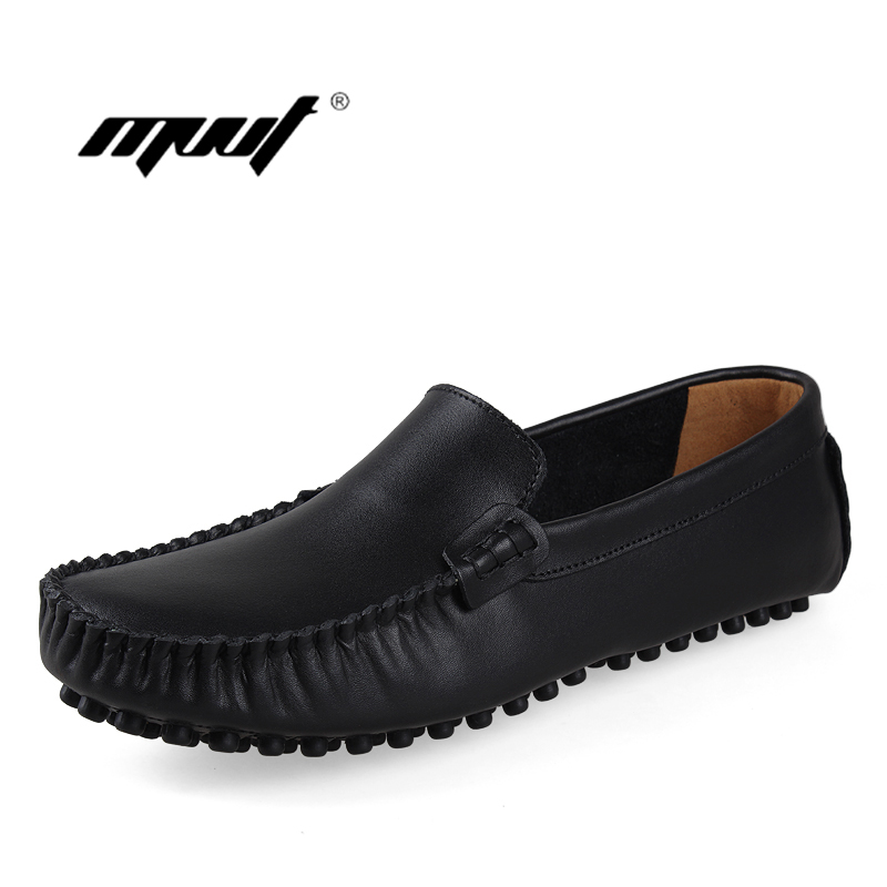 Handmade Men Loafers Casual Shoes Mens Flats Design Men Driving Shoes Slip on Moccasins Soft Bottom Leather Shoes<br>