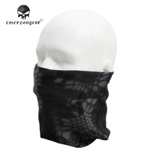 Emerson Multifunctional Balaclava Quick Drying Neck Half Training Military Bandana Fishing Ciclismo Camouflage Active Scarves
