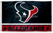 NFL Houston Texans Allegiance Flag 3x5ft 150x90cm Polyester Flag Banner, free shipping(China)