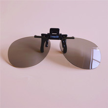 Brand new ultra-thin virtual reality IMAX Linear Polarized 3D glasses clip frame for  Imax cinema movie films