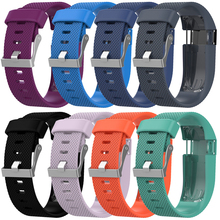 22MM large Silicone Band Replacement Rubber Strap Wristband Bracelet For Fitbit Charge HR Futural Digital JUN15