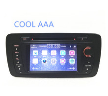 car radio DVD 2din for VW Seat Ibiza 2009 2010 2011 2012 2013 Stereo system wifi blooth 3g(China)
