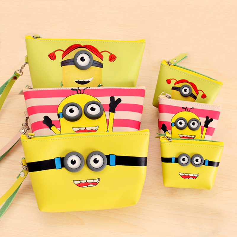 1pcs Yellow waterproof Mother and child bag coin purses zero wallet women change purse,lady zero wallets bag Free shipping<br><br>Aliexpress