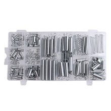 2017 200PCS/set Practical Metal Tension/Compresion Springs Assortment In 20 Sizes Box Package(China)