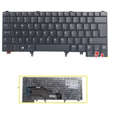 SSEA New UI Keyboard With Mouse rod For DELL E6420 E5420 E5430 E6220 E6320 E6330 laptop English Keyboard Without backlight