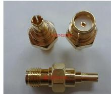 Turn CRC9 SMA outside screw hole test head CRC9 - J/SMA - K huawei 3 g network card connector antenna head