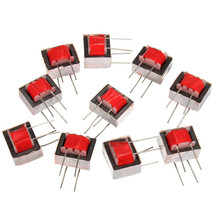 Newest 10pcs/pack Audio Transformer 600 : 600 Europe 1:1 EI14 Isolation Transformer Audio Transformer Ringing(China)