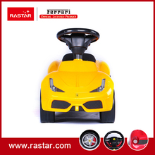 Rastar Licensed ride on car toy Ferrari 458 speciale A foot to floor car with horn sound and leather seat 83500