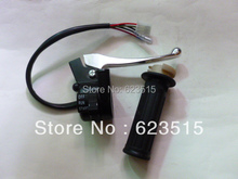 PW PY50 Right Throttle Housing Switch with Lever and grip FOR PW50 GT50 PEEWEE LONCIN & JIANSHE PY50(China)
