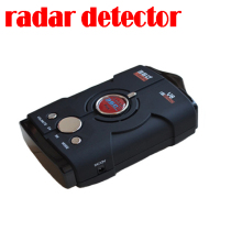 by dhl or ems 50 pieces New Model Car Radar Detector Laser Detector Auto Radar Detector V8 + LCD Display Russian/ English(China)