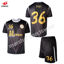 toddler personalized football jersey plus size soccer jerseys OEM your own team jerseys(China)