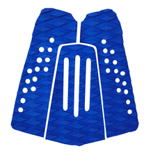 High Quality 3 Pieces / Set Blue EVA Tail Pads Surfboard Deck Grips Traction Surfing Mat Boayboard LongBoard Surf Accessories(China)