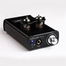 2016 New High Performance xDuoo TA-02 6J1x 2 Hifi Audio Stereo Vacuum Tube Headphone Amplifier Dual Tube AMP Class A Buffer amp