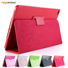 Fineshow Tablet Case For iPad 4 3 2 Book Leather Case Smart Holder Stand Flip Cover for iPad4 iPad3 iPad2 Tablet Accessory(China)