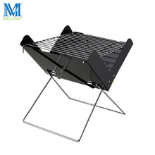 Portable Folding Charcoal BBQ Grill Detachable Barbecue Grill for Outdoor Easy to Assemble