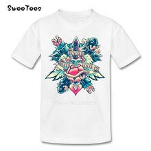 BOWSER NEVER LOVED ME Boys Girls T Shirt Cotton Short Sleeve Round Neck Tshirt children's Tops 2017 Popular T-shirt For Baby