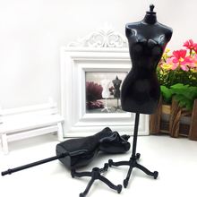 20 PCS Doll Dress Cloth Gown Plastic Demountable Display Support Holder Mannequin Model Stand Accessories for Barbie Doll Dress(China)