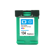 For HP 134 Compatible Ink Cartridge For HP134 Deskjet 5940 6940 5943 6943 6983 6543 6843 7313 7413 8153 2713 Printer(China)